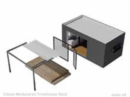 Casas Modulares Trehouse Spot