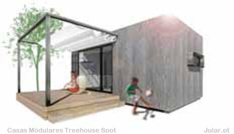 Casas Modulares Treehouse Spot